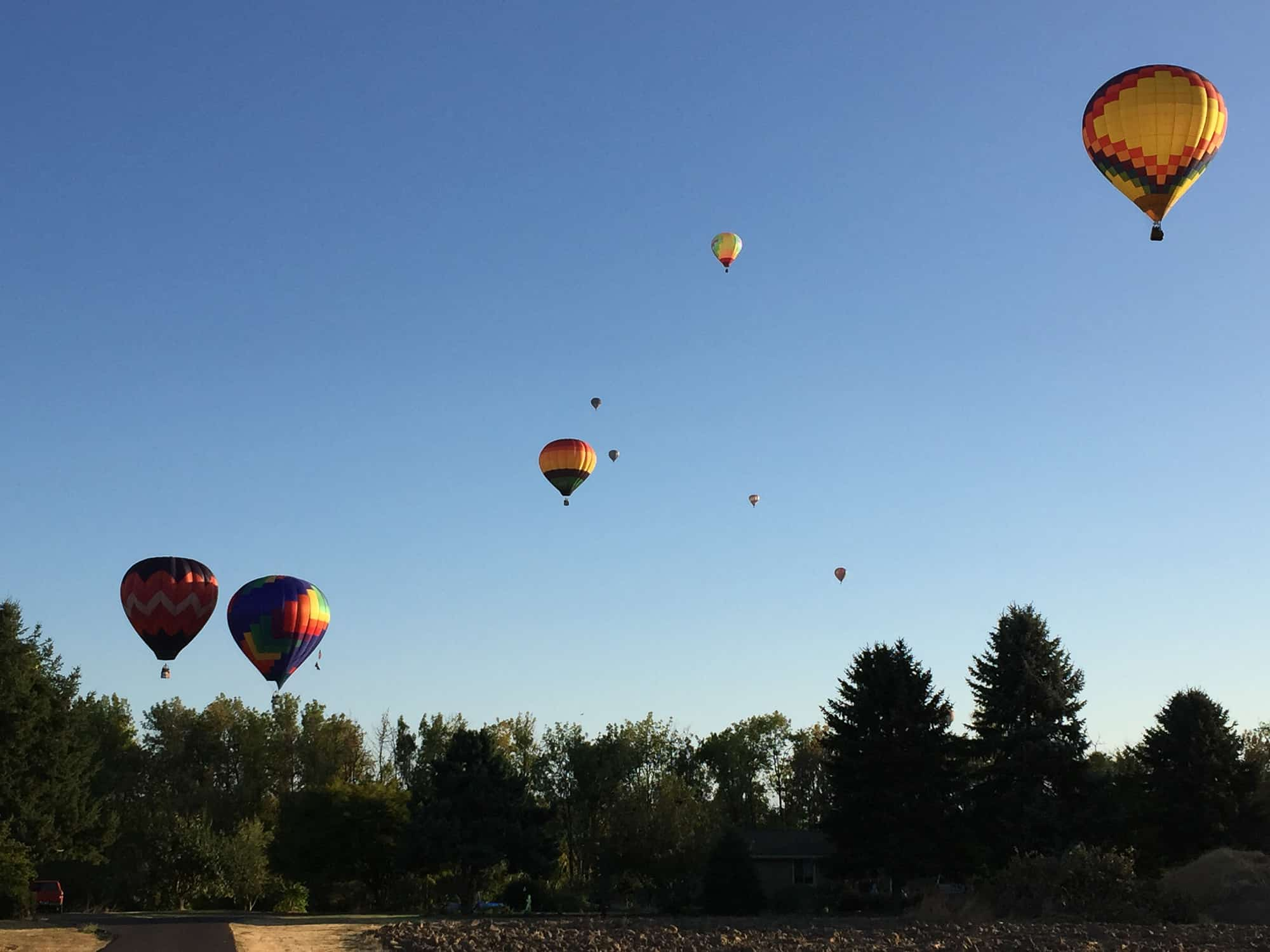 Hot Air Balloons in Albany OR