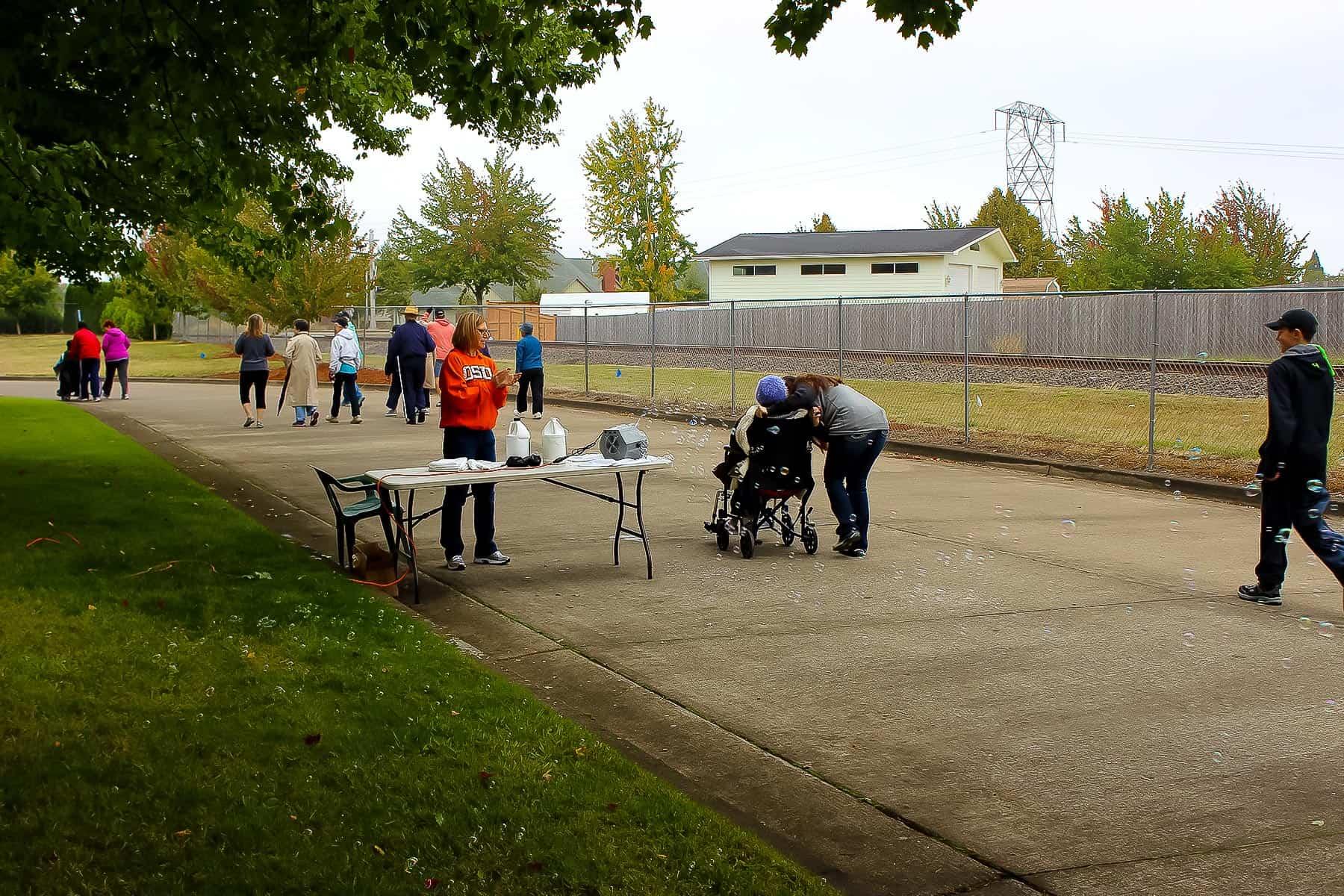 Walking Activity at Mennonite Village