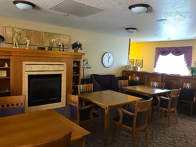 Independent Living Apartments - Public room