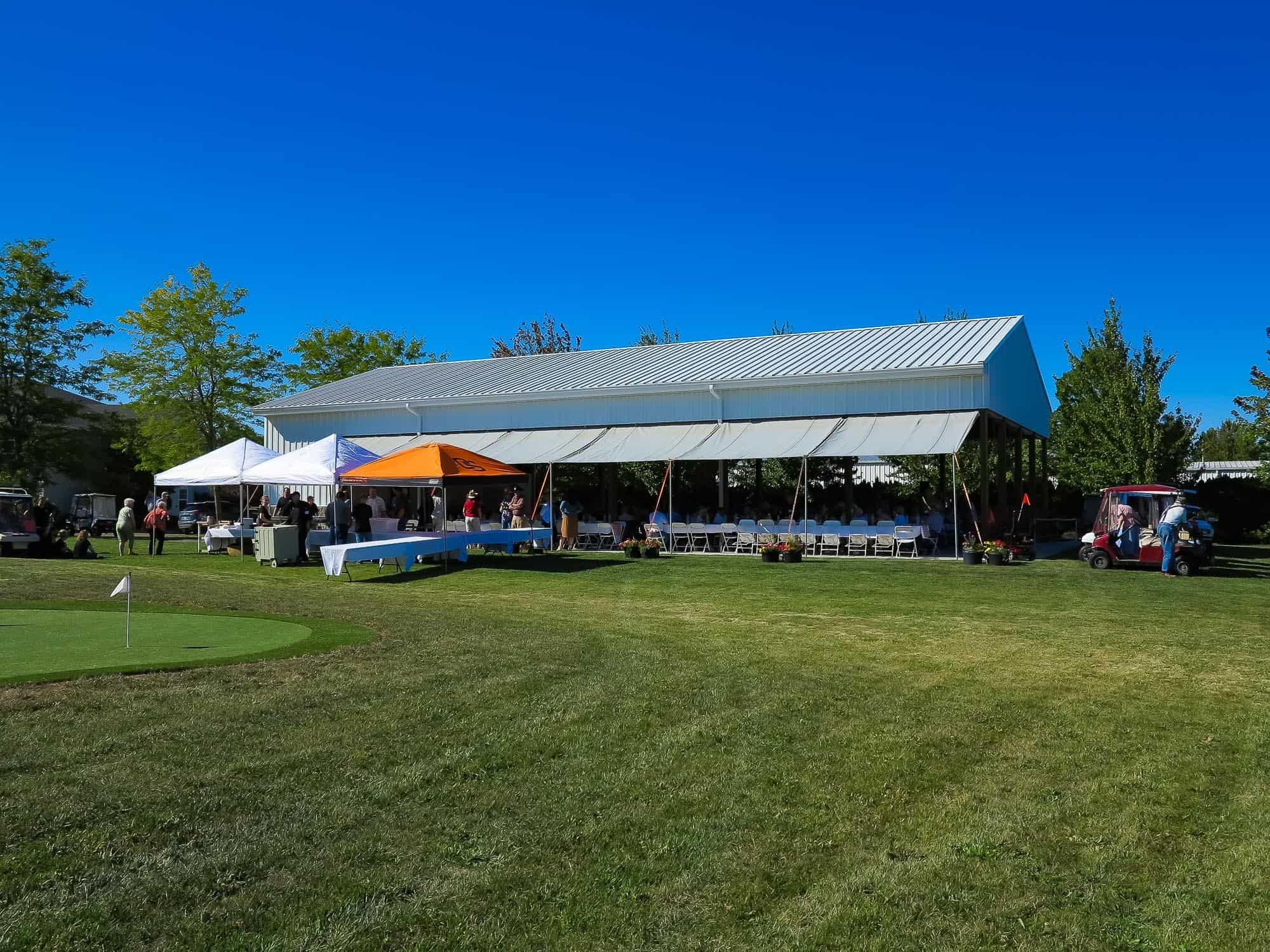 Pavilion at Mennonite Village