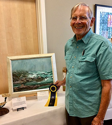 Mennonite Village Residents Shine at the Ageless Art Contest