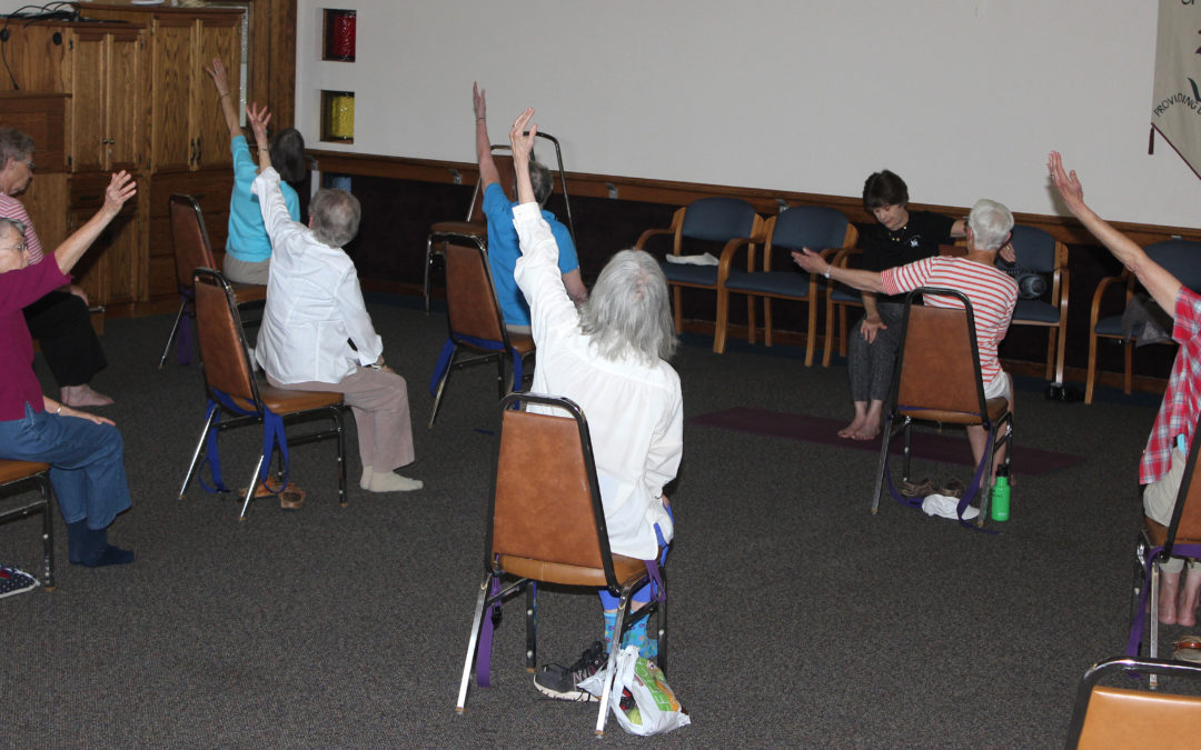 Why is Gentle Yoga Exercise Therapeutic for Older Adults?